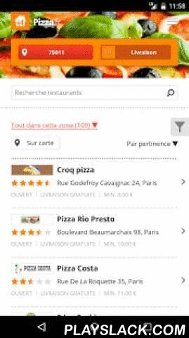 Pizza.fr  Android App - playslack.com ,  Order food online with your Android smartphone or tablet using the Pizza.fr app. Super easy!Want to order a tasty pizza, salad, burger or kebab? Our app lets you order the best dishes from 1400+ restaurants accross France. Craving Chinese, Indian, Italian or Greek food? You'll be spoilt for choice! Restaurants usually take 30-45 minutes to deliver.Benefits of our app:✔ Ordering food online is just a few steps away.✔ See the locations of all…