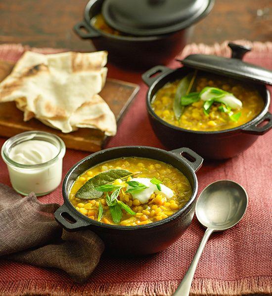 Yellow split pea soup