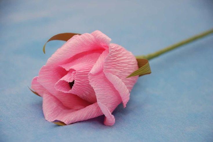 Роза из бумаги для букета из конфет. Мастер-класс. Букет из конфет.(se pueden hacer con chala de choclo)