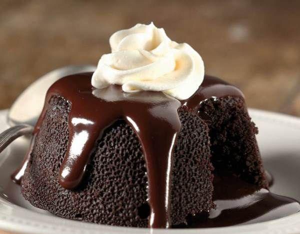 Resep Chocolate Lava Cake Resep Makanan Penutup Hidangan Penutup Makanan Penutup Coklat