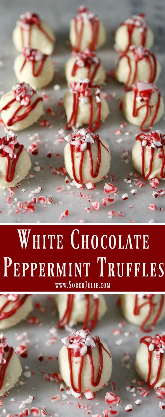 Who loves the peppermint flavour of candy cane? If you do then you'll love these simple White Chocolate Peppermint Truffles!