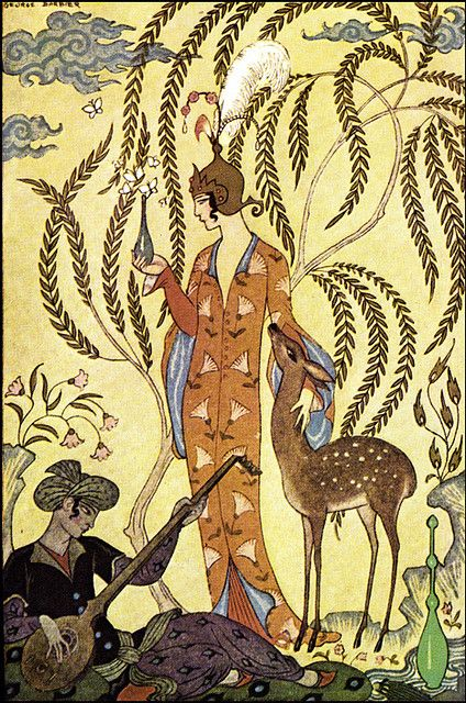 George Barbier (1882-1932) - French Art Deco Fashion Illustrator -