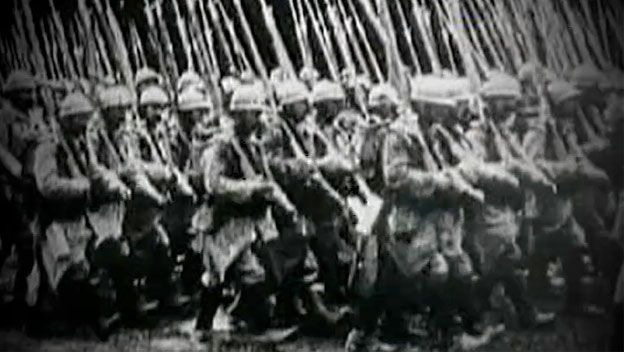 History Channel: Christmas Truce 1914 video and short article