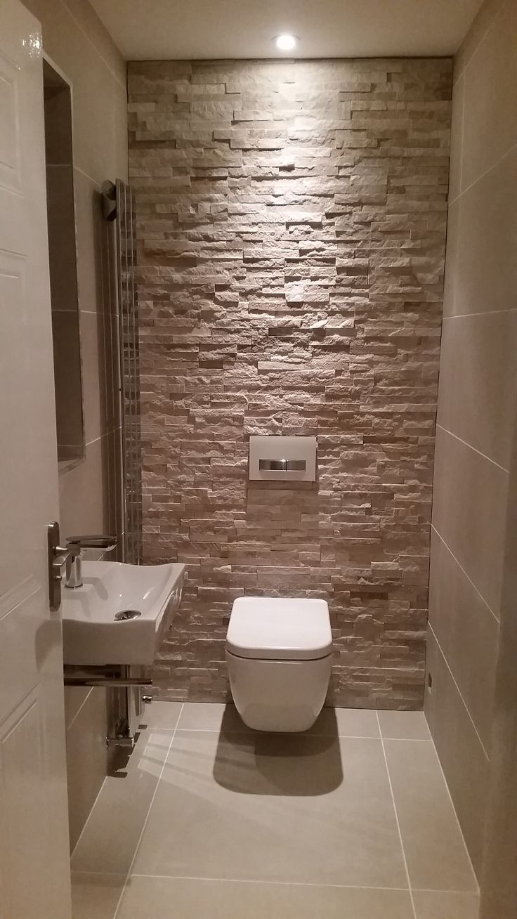Cloakroom WC toilet WC  Modern WC  Pinterest  Toilet Guest toilet and Downstairs loo