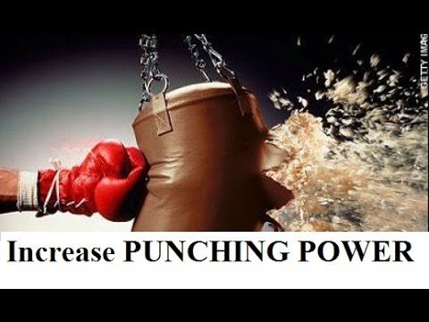 boxing training tips and exercises - how to increase punching power and puch faster - YouTube
