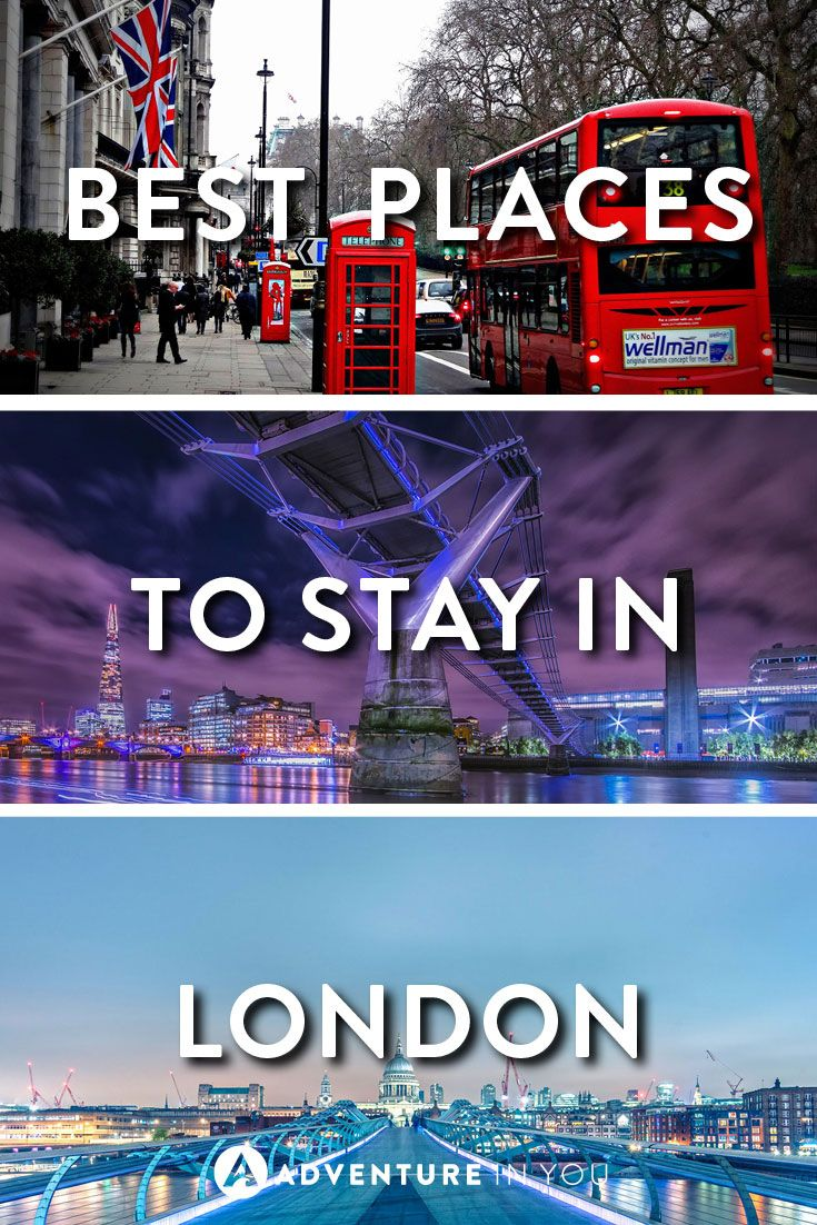 Where to Stay London | Looking for recommendations on the best places to stay in London? Check out our full guide on the best places to stay for hotels and hostels