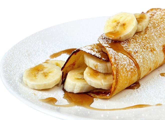 Банановые блинчики: приготовь восхитительный банановый десерт