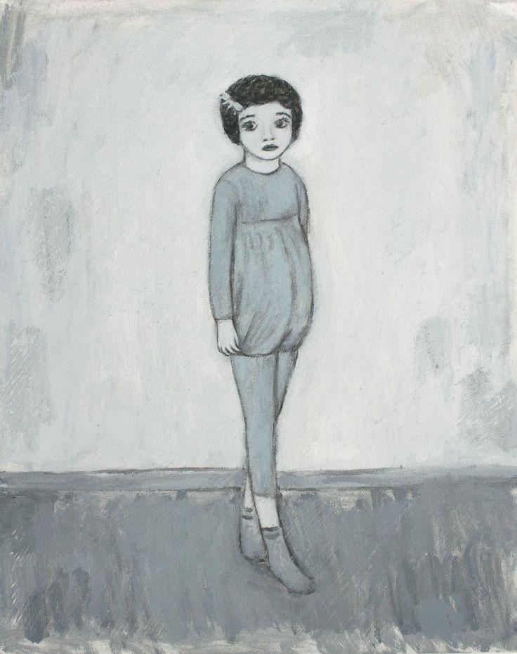 Marco Demis, 2010, Senza Titolo, Olio su tela, 30 x 24.