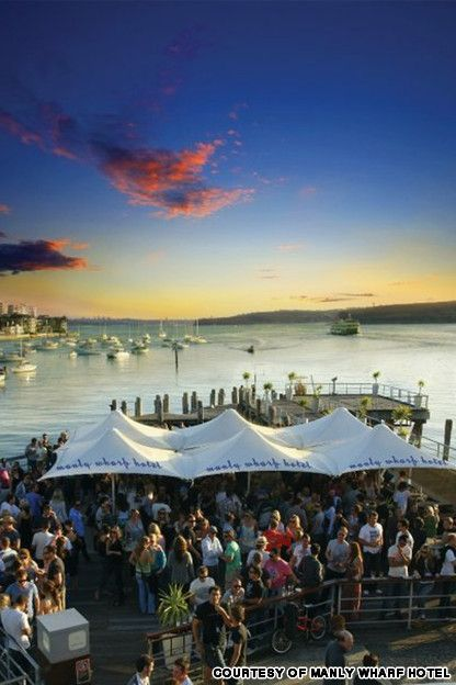 Would love to belly up to the Manly Wharf Bar :)