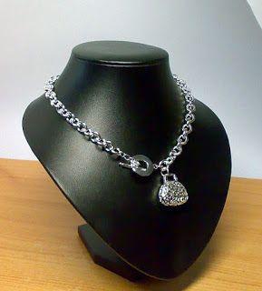Csak nézz rá!: Retikül medálos, sterling ezüst nyaklánc