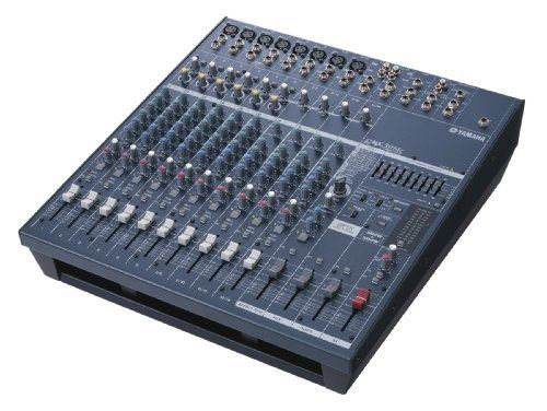 Yamaha EMX5014C 14 Input Stereo Powered Mixer 500 Watt Per Channel by Yamaha. $729.99. The EMX5014C is a stereo powered mixer with 14 inputs, built-in digital effects and two 500-watt amplifiers. It is housed in a sturdy, steel chassis that is optionally rack mountable. The mixer section is a 14- input stereo design that has 3 aux sends, 1 for the internal effect and 2 monitor sends, (one fixed pre-fader and the other switchable pre or post fader. Inputs 1-6 have 3-band EQ wi...