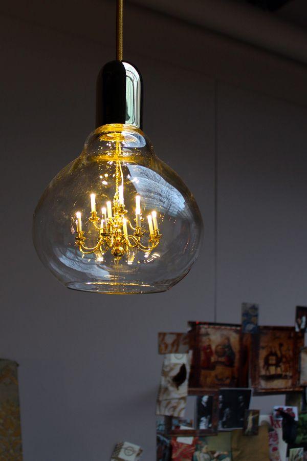 Be Still, Mineheart! Be Still. Be StillHanging LampsPackaging DesignBulb.  Edison Gold King ...