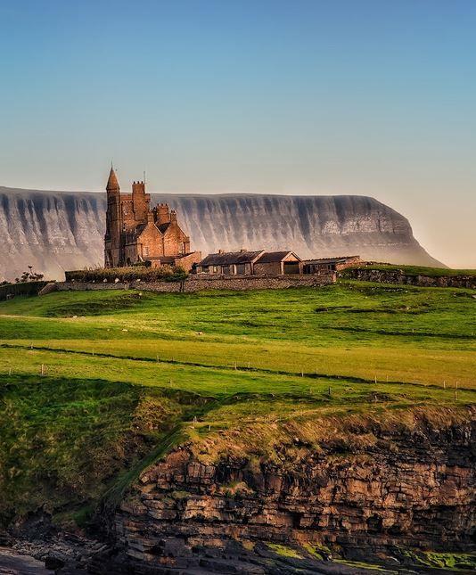 Classiebawn Castle, Co. Sligo, Ireland by A. Mikulans