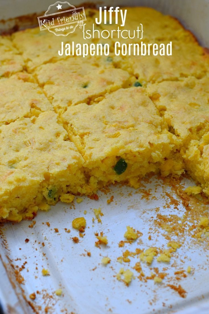 Shortcut Jiffy Jalapeno Cheddar Mexican Cornbread Recipe With Video Kid Friendly Things To Do Recipe In 2020 Mexican Cornbread Recipe Corn Bread Recipe Best Cornbread Recipe