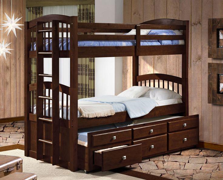 Queen Beds Metal Wood And Metal Bunk Bed Queen Over Queen: 25+ Best Ideas About Captains Bed On Pinterest