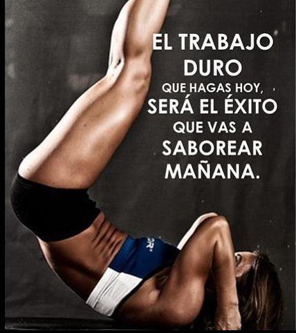 ¡Trabajo duro, siéntete saludable!