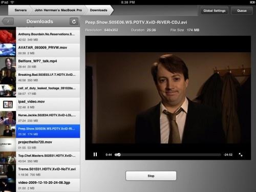 Flex Player, Air Player – los videos en el iPad