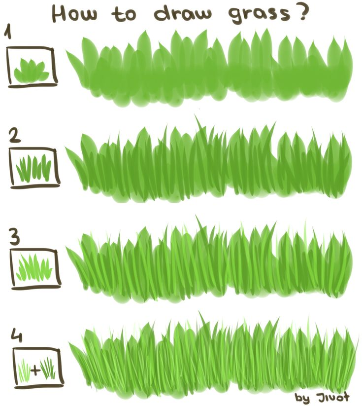 how to draw grass - Google Search