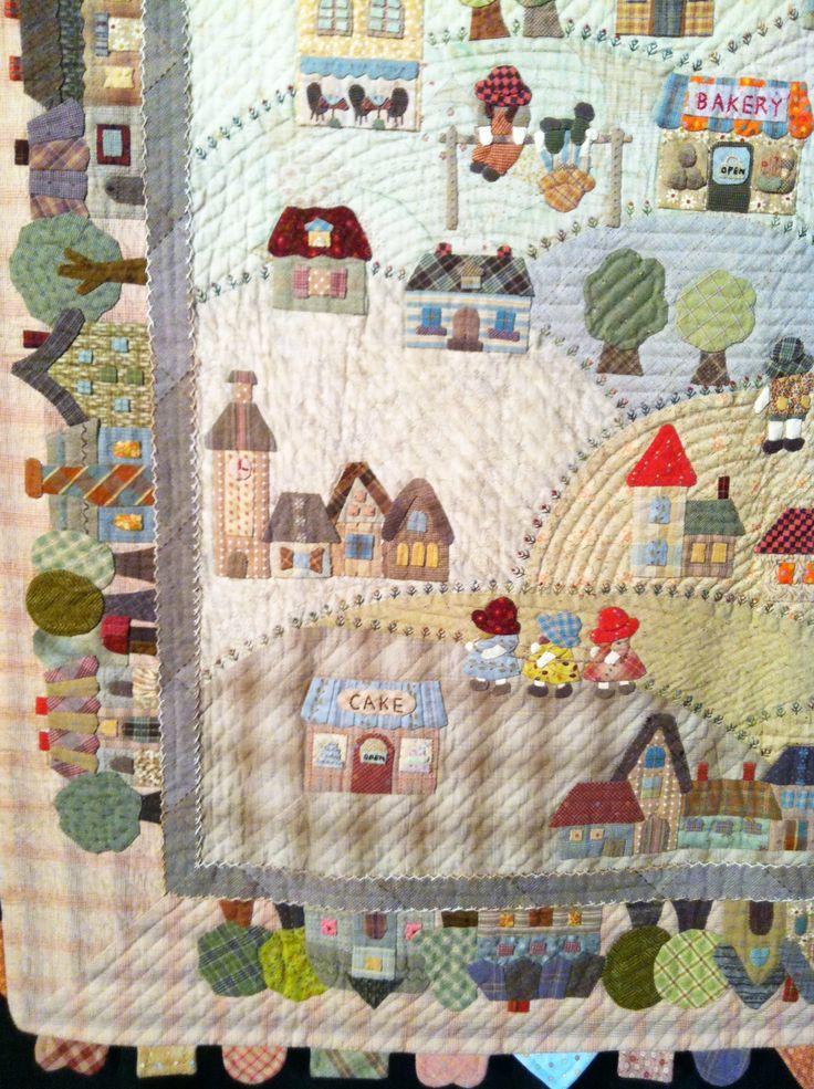 17 beste afbeeldingen over reiko kato quilts op pinterest - Reiko kato patchwork ...