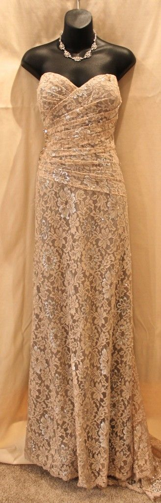 Rina Di Montella Evening Gown