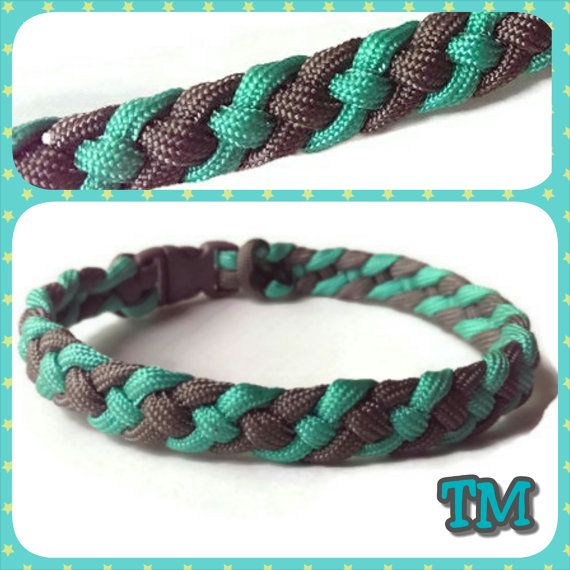 Custom Paracord Anklet -550 parachute cord jewelry ...