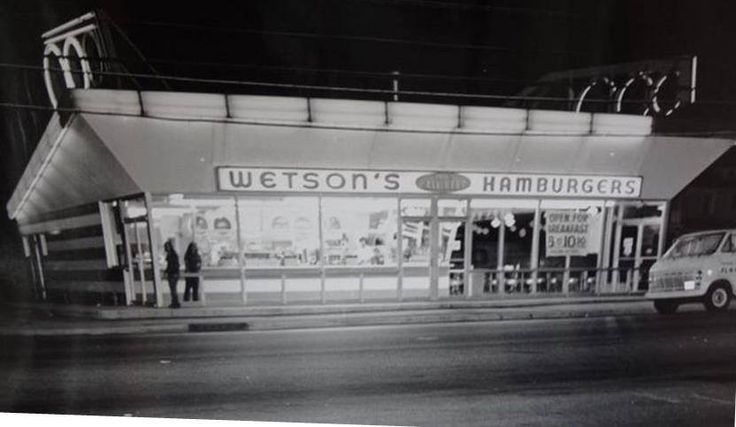 Wetson S Hamburger Stand Of A Bygone Day One Of