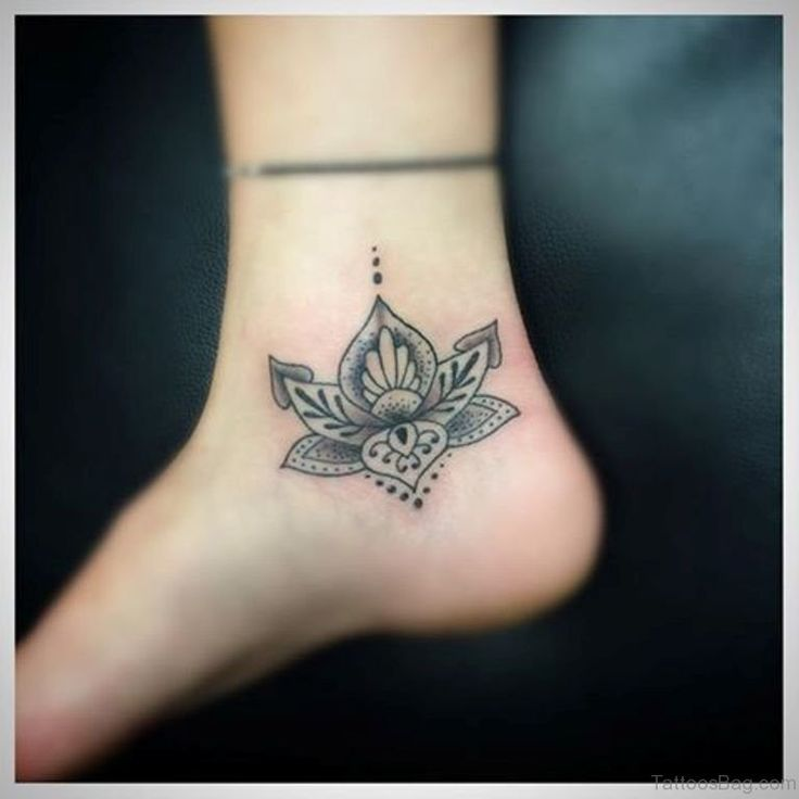 25 best ideas about mandala flower tattoos on pinterest