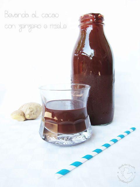 Gialla tra i fornelli: Bevanda al cacao con zenzero e miele