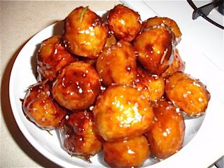 Danish Caramelized Christmas Potatoes.  From the blog Madison Cowan.