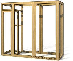 3D Aviary, Panel-form Aviary Construction