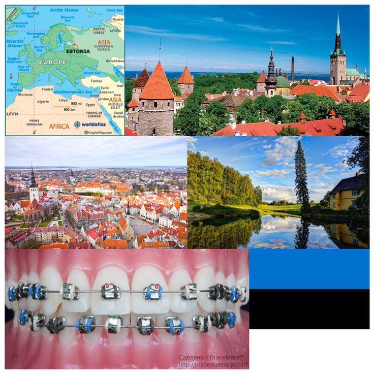 Tuesday travel shout out is to #Estonia #Tallinn 🇪🇪#orthodontics #orthodontist  #ортодонт #ортодонтия #braces #colours #app #wanderlust