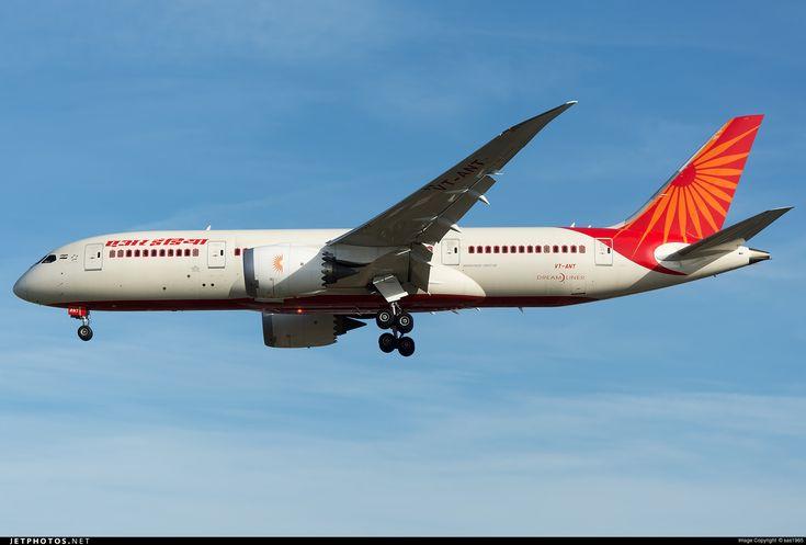 Photo: VT-ANT (CN: 36291) Boeing 787-8 Dreamliner by sas1965 Photoid:8420203 - JetPhotos.Net