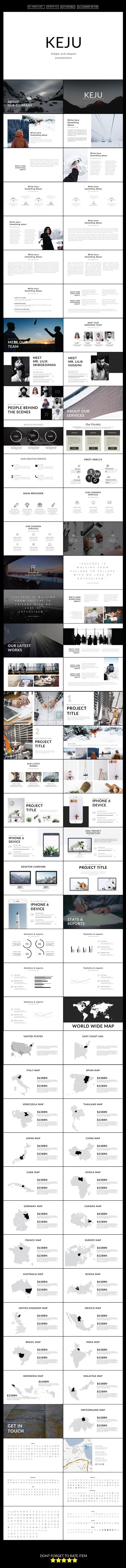 Keju Multipurpose Keynote Presentation Template