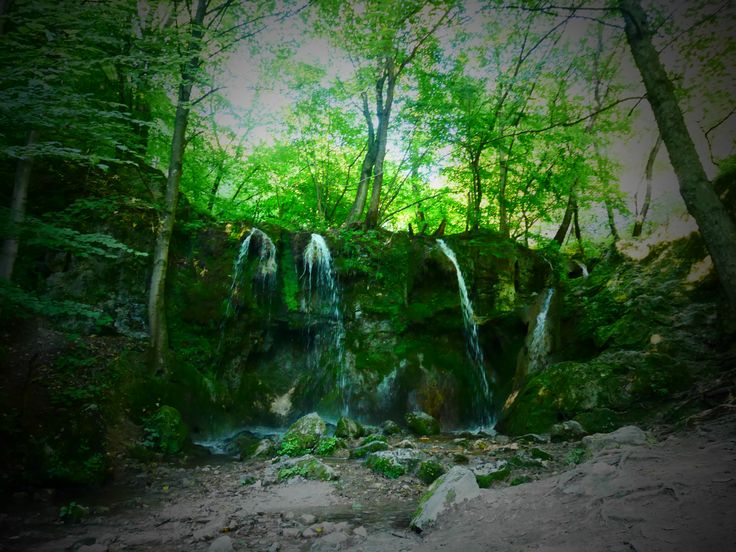 Hájske vodopády - Slovenský kras