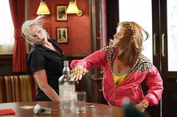 EastEnders pics: Biana Jackson lashes out at Ronnie Mitchell for ...