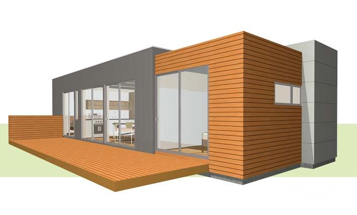 PieceHomes Modular Modern Homes By Davis Studio Architecture Design Gold