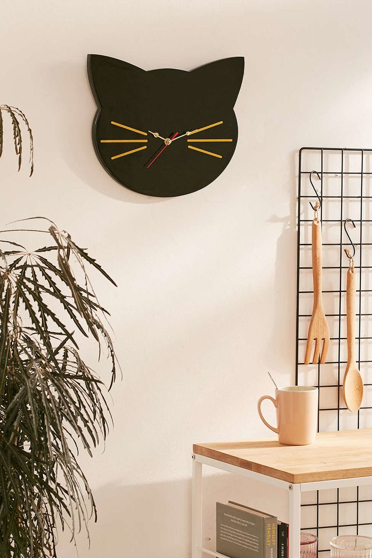 Best 25 cat clock ideas on pinterest kit kat clock go to clock 31 awesome and inexpensive things you need for your home cat clockcat amipublicfo Gallery