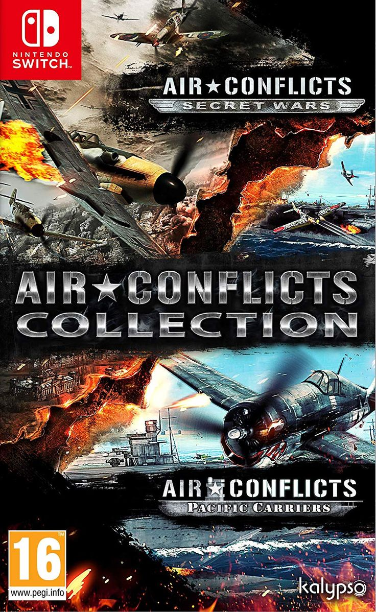 Air Conflicts Collection Switch (Secret Wars + Pacific
