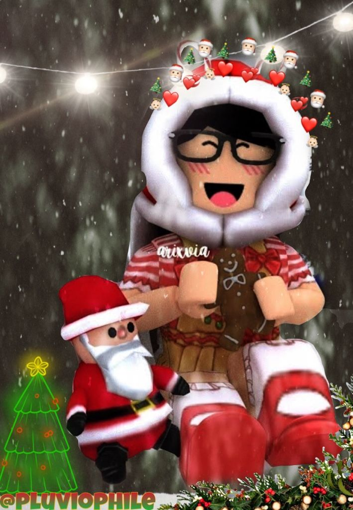 Christmas Gfx Cute Wallpapers Roblox Pictures Roblox Animation