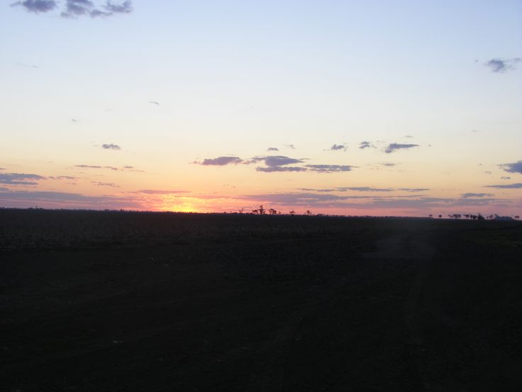Sunset out Kingaroy way.