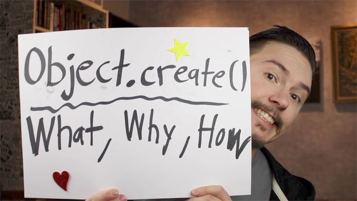 The Object.create() method in JavaScript creates a new object with the specified prototype object and properties. I walk through what it is, why Object.creat...