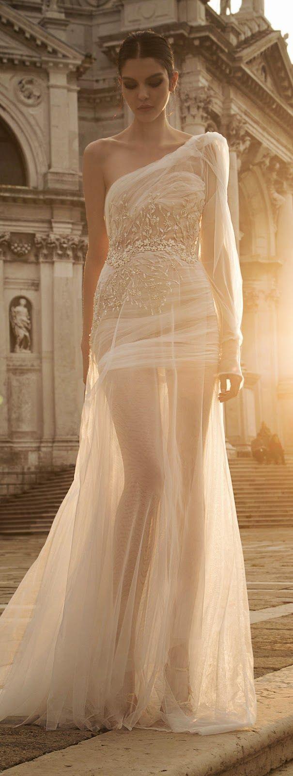 Inbal Dror 2015 Bridal Collection - Part 2 | bellethemagazine.com