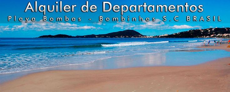 Playa Bombas : Brasil : Alquiler de departamentos :