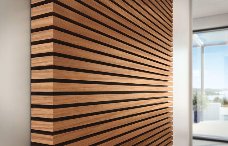 Pin by EuroAmerica Design on EuroAmerica Wardrobes  Wood slat wall Wood slats Wall exterior