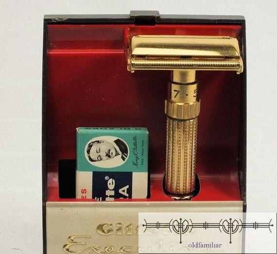 Gillette Rasierer Fat Boy F4 1960 in Box Made in von oldfamiliar1, €130.00