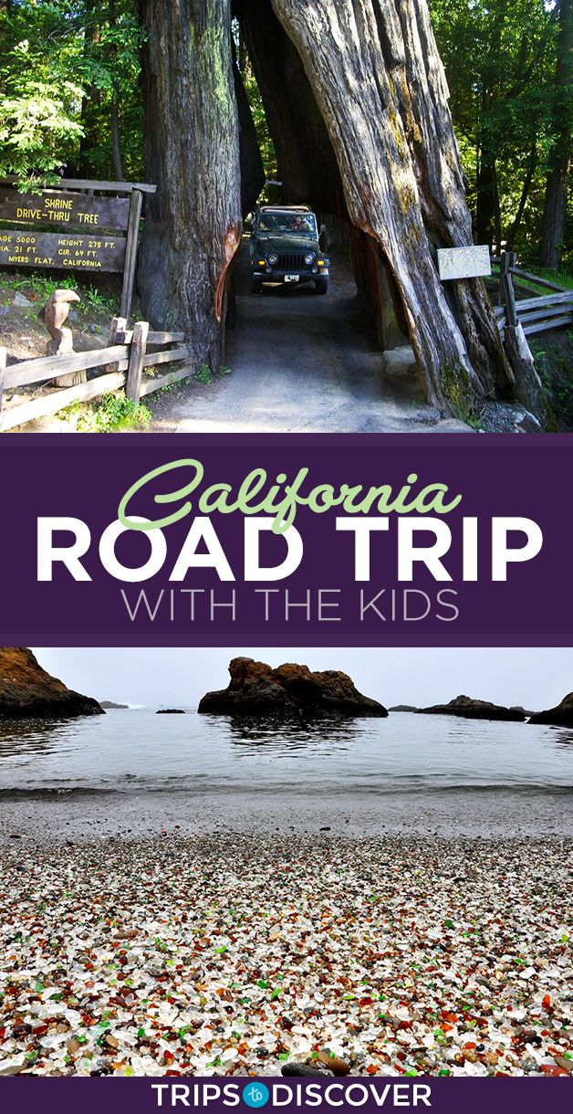 10 Stops on Your California Road Trip to Keep The Kids Entertained