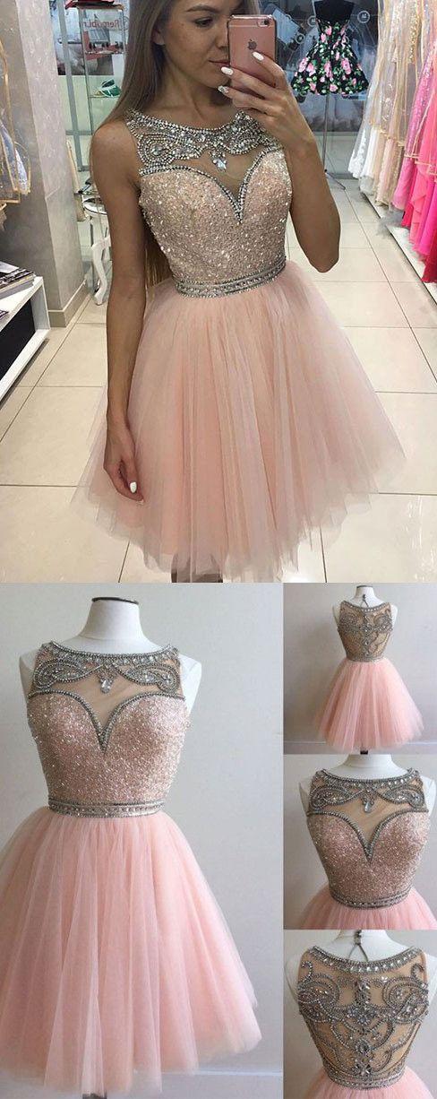2017 A-line Scoop Homecoming Dress Prom Drsess Juniors Homecoming Dresses SKY099