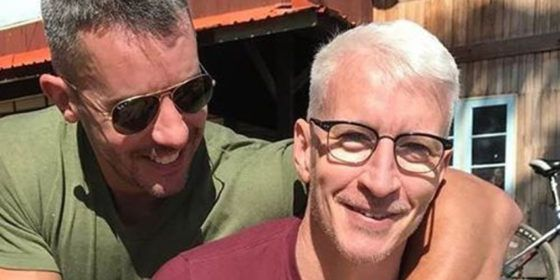Anderson Cooper actually hissed at partner Benjamin Maisani during driving lesson