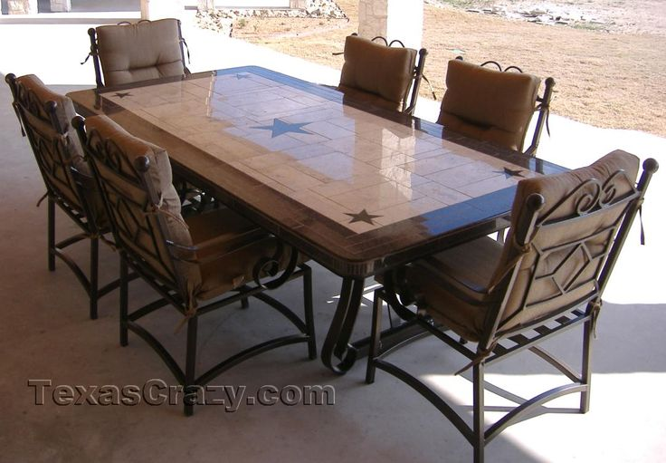 Buy Custom Made Texas Patio Dining Tables Outdoor Furniture