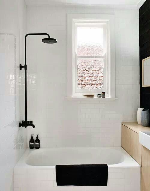 Beautiful small bathroom.